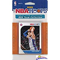 Detroit Pistons 2019/20 Panini Hoops NBA Basketball EXCLUSIVE Factory Sealed Limited Edition 10 Card Factory Sealed Team Set with Blake Griffin, Andre Drummond,Derrick Rose & More! WOWZZER!