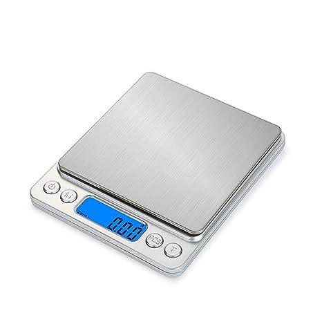 GSJJ Inoxidable Electrónico Báscula Cocina, Multifuncional Balanza de Alimentos, para Uso en la Cocina