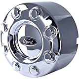New OEM Ford Rear Center Cap 8 Lug Compatible With Ford F-350 Drw 2005-2016 By Part Numbers HC3C1A096XB HC3C1A096AD HC3C-1A09