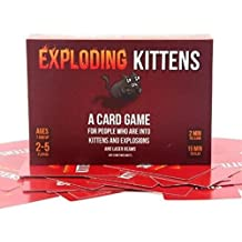 Exploding Kittens Original Edition Family Exploding Board Game Playing Cards