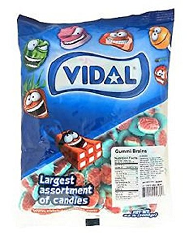 Gummy Brains Candy (2.2 Lb Bag)
