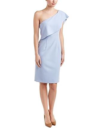 fe2aa7baaeb Antonio Melani JJ Stretch Linen One Shoulder Dress (14) at Amazon ...