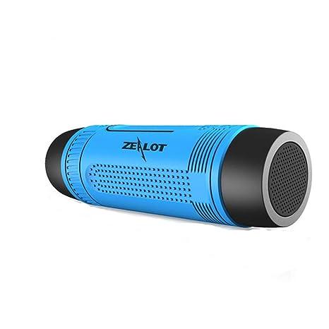 Altavoz Portátil Bici, 10W Bluetooth 4.0 Bicicleta Speaker ...