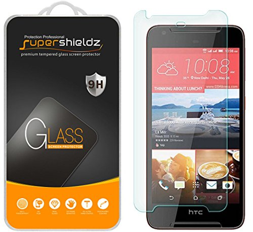 [2-Pack] Supershieldz for HTC Desire 628 Tempered Glass Screen Protector, Anti-Scratch, Anti-Fingerprint, Bubble Free, Lifetime Replacement