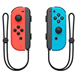 Joy-con (L) Neon Red / (R) Neon Blue Controller for Nintendo Switch Japan