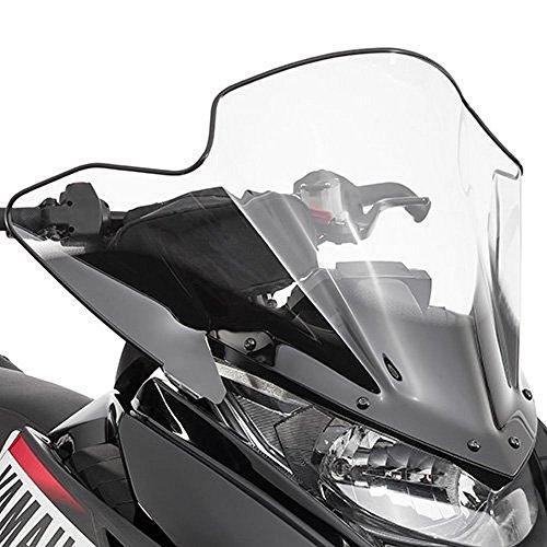 Yamaha Snowmobile Windshield - Yamaha SR Viper Medium Snowmobile Windshield Smoke 20.4