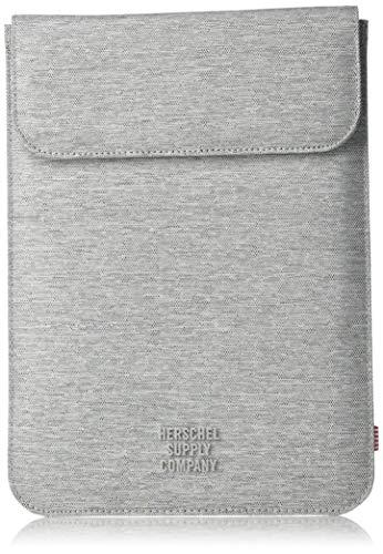 Herschel Men's Spokane Sleeve for iPad Air, light grey crosshatch, One Size