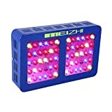 MEIZHI Reflector 300W Led Grow Light Full Spectrum for Indoor Plants Veg and Flower with Dual Switches