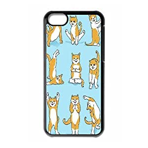 Yoga Cats Custom Cover Case for Iphone 5C,diy phone case ygtg572856