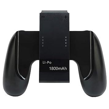 Amazon.com: Defway Joy Con - Empuñadura de carga con batería ...