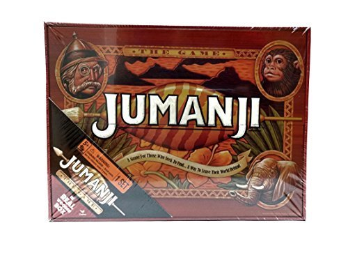 Wooden Board (Jumanji The Game In Real Wooden Box)