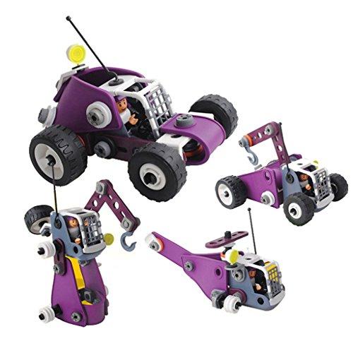 Perfeclan 子ども 幼児用 おもちゃ 組み立て車両 DIYアクセサリー 模型 コレクション