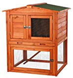 TRIXIE Pet Products Rabbit Hutch with Peaked Roof, Small review