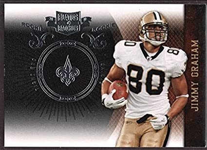 5db8b5c72 Amazon.com  Jimmy Graham 2010 Plates and Patches Rookie Silver SP ...