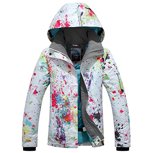 APTRO Women's ski Snowboard Jacket Waterproof Warm Winter Lined Jacket...