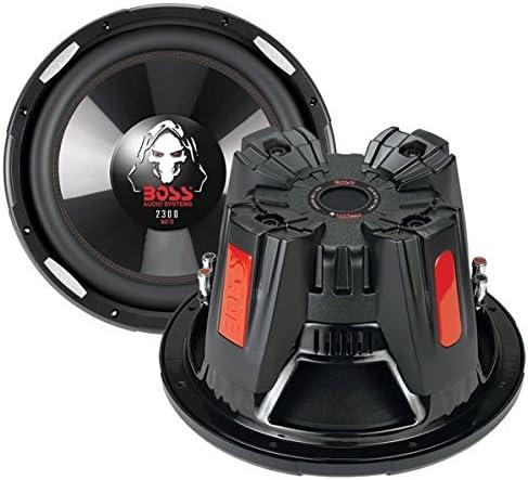 Amazon.com: Boss Audio Phantom 10 Inch 2100 Watt DVC 4 Ohm Deep Bass Car  Subwoofer | P106DVCAmazon.com