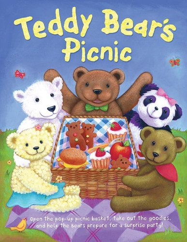 Teddy Bear's Picnic: Pop-Up Picnic Basket with Working Fork, Knife ...