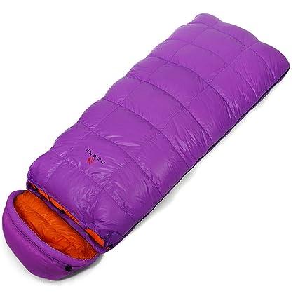 Saco de dormir al aire libre unisex -25 ° C Winter Duck Down cálida saco
