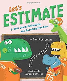 Book Cover: Let's Estimate: A Book about Estimating and Rounding Numbers