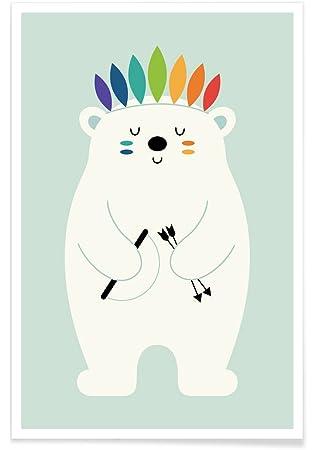 Amazon.de: JUNIQE® Poster 40x60cm Kinderzimmer & Kunst für Kinder ...