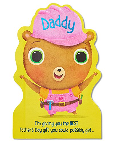 American Greetings Father's Day Card for Daddy From Daughter with Glitter (5873397)