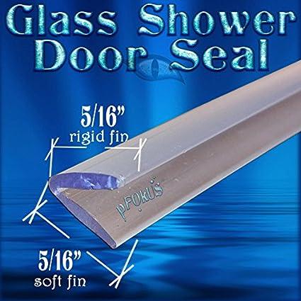 Amazon Ds105 Frameless Glass Shower Door Seal Wipe Sweep 98