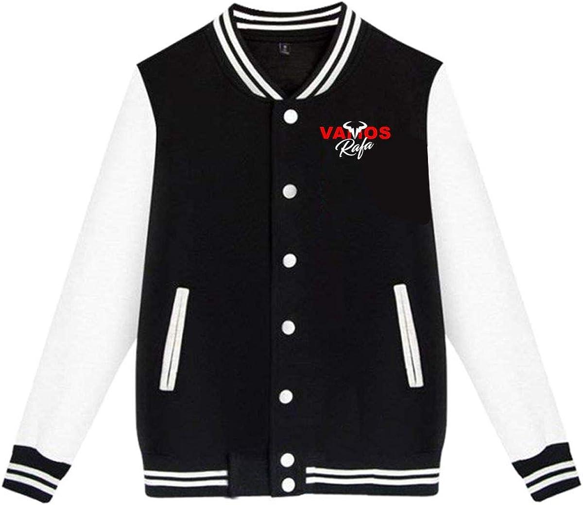Amazon Com Fangpeilian Unisex Vamos Rafa Rafael Nadal Tennis Star Jacket Sport Coat Clothing