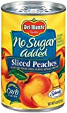 Del Monte Peaches Sliced Yellow Cling No Sugar Added - 12 Pack