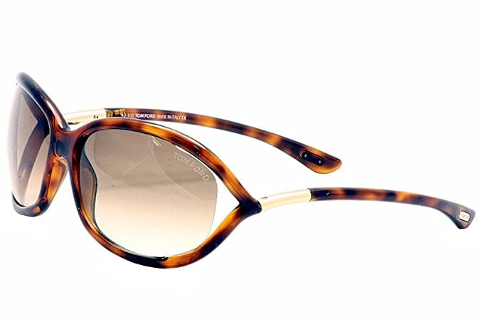 19c0ffb65f4994 Image Unavailable. Image not available for. Color  Tom Ford Jennifer FT0008  Sunglasses-52F ...