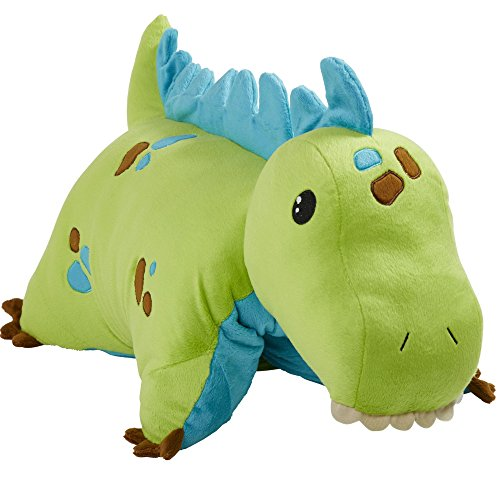 Best Pillow For 4 Year Old - Pillow Pets Dinosaur, Green Dinosaur, 18