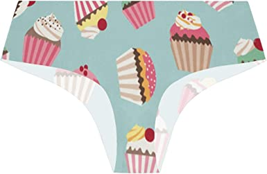 Vintage Background With Cupcake Clipart Images