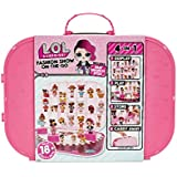 L.O.L Surprise! Fashion Show On-The-Go Storage/Playset with Doll Included – Hot Pink, Multicolor