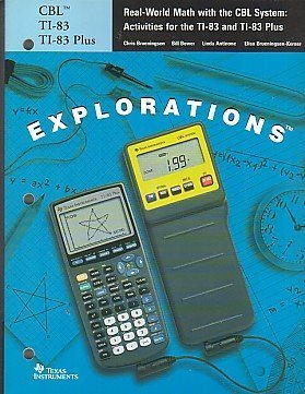 Real-World Math with the CBL System: Activites for the TI-83 and TI-83 Plus ()