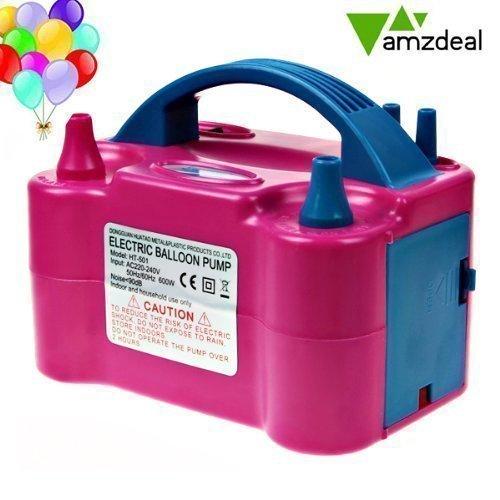 Amzdeal Inflador globo electrico para inflar globos hinchador globos electrico para fiestas