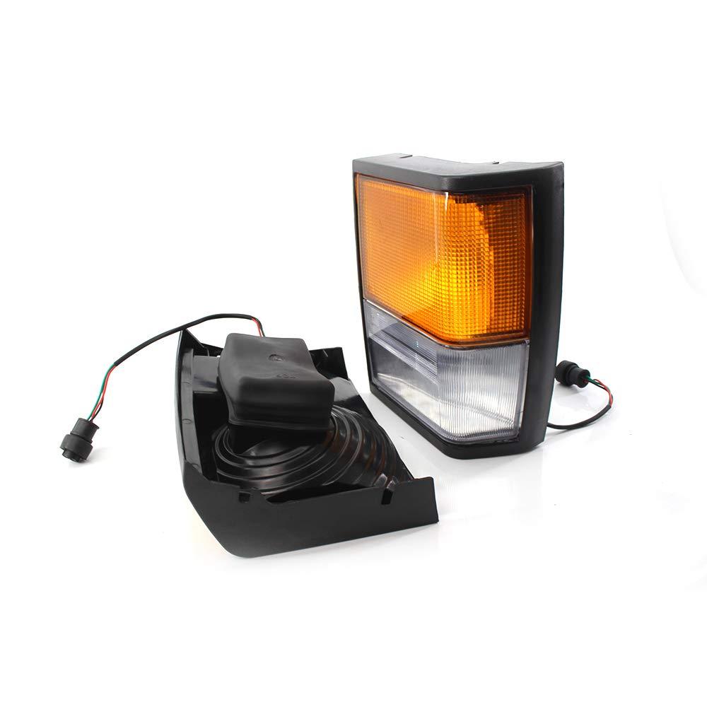 Luz lateral del coche cuadrada enchufe auto luz trasera trasera l/ámpara LED se/ñal de luz de esquina