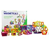 Magneticals Tile Set for Kids (198-Piece Set) Stack, Create and Learn Promote Early Learning, Creativity, Imagination Boys and Girls by Dimple