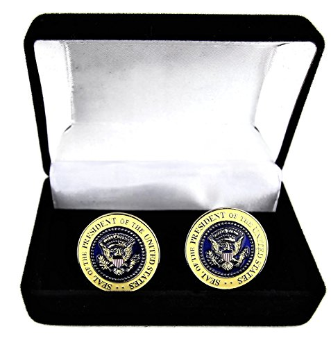 Rystinworks Donald Trump Presidential Cufflinks (Donald Links)