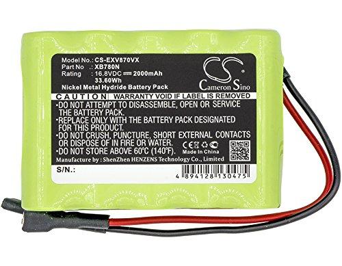 Bateria : Ni-MH 16.80V 2000mAh / 33.60Wh Compitale With Euro