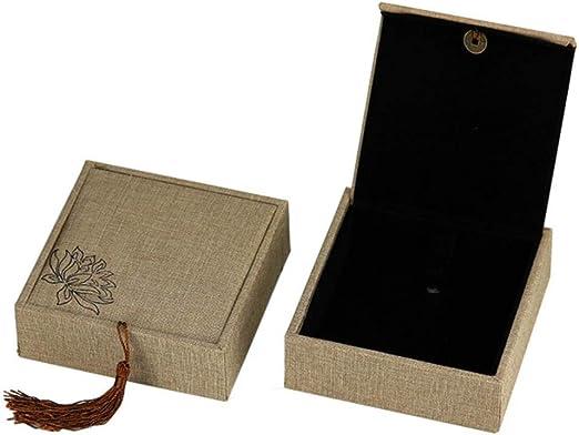 DGJEL Caja de joyería Multifuncional China con diseño de Viento, para Collar, Colgantes, Caja de Regalo, Pulsera, decoración del hogar, 2: Amazon.es: Hogar