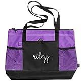 Riley Dance Bag: Gemline Select Zippered Tote Bag