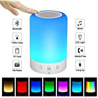 【2018 UPGRADE Portable Bluetooth Speakers V4.0 Wireless...