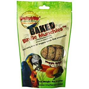 Oven Fresh Bites Birdie Munchies Pet Treat, Veggie, 4-Ounce 83