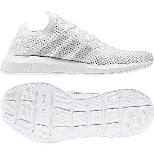 Adidas Heren Snelle Run Primeknit Originelen Loopschoen Cloud Wit / Grijs / Wit Wolk