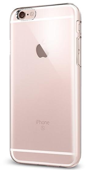 Spigen Funda iPhone 6s, [Thin Fit] Revestimiento de Acabado Mate de Primera Calidad para el iPhone 6s / iPhone 6 - Transparente