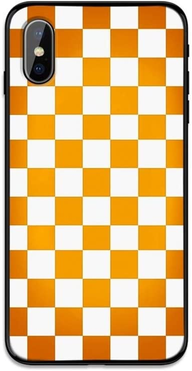 Color : 9, Material : For iPhone XR ZIXIXI A Cuadros Caja del tel/éfono for iPhone 11 Pro X XS MAX XR 7 8 6 6s Plus 5S SE Negro Blanco Rejilla de Tablero de ajedrez Simple Cubierta Retro