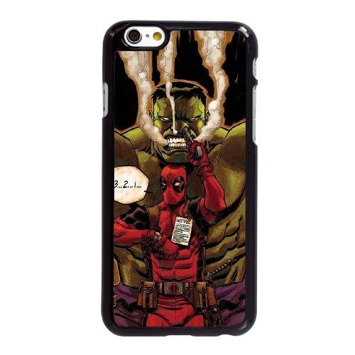 Deadpool Vs Hulk iPhone 6 6S 4,7-Zoll-Handy-Fall hülle schwarz O8Y2DPNOBQ