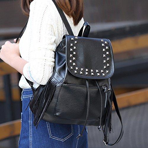 Meaeo Der Neue Trend Der Koreanischen Mode Damen Rucksack Tasche Student Tasche