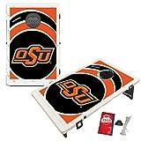 #10: Oklahoma State University Cowboys Baggo Bean Bag Toss Cornhole Game Vortex Design