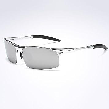 HONEY Gafas de sol polarizadas deportivas personalizadas - Marco de aluminio de magnesio de aviación de