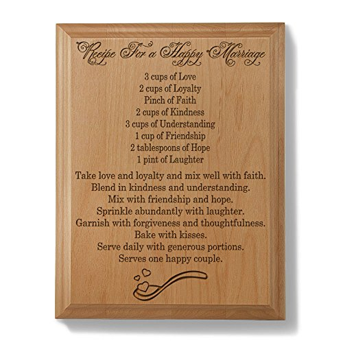 Forty Fifth Wedding Anniversary Gifts: Wood Anniversary Gift: Amazon.com
